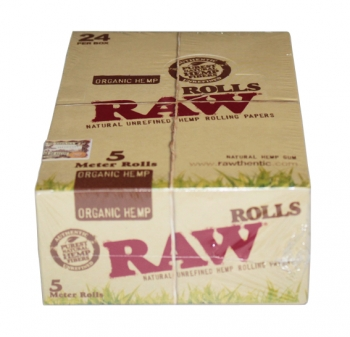 RAW Organic Rolls Big Pack